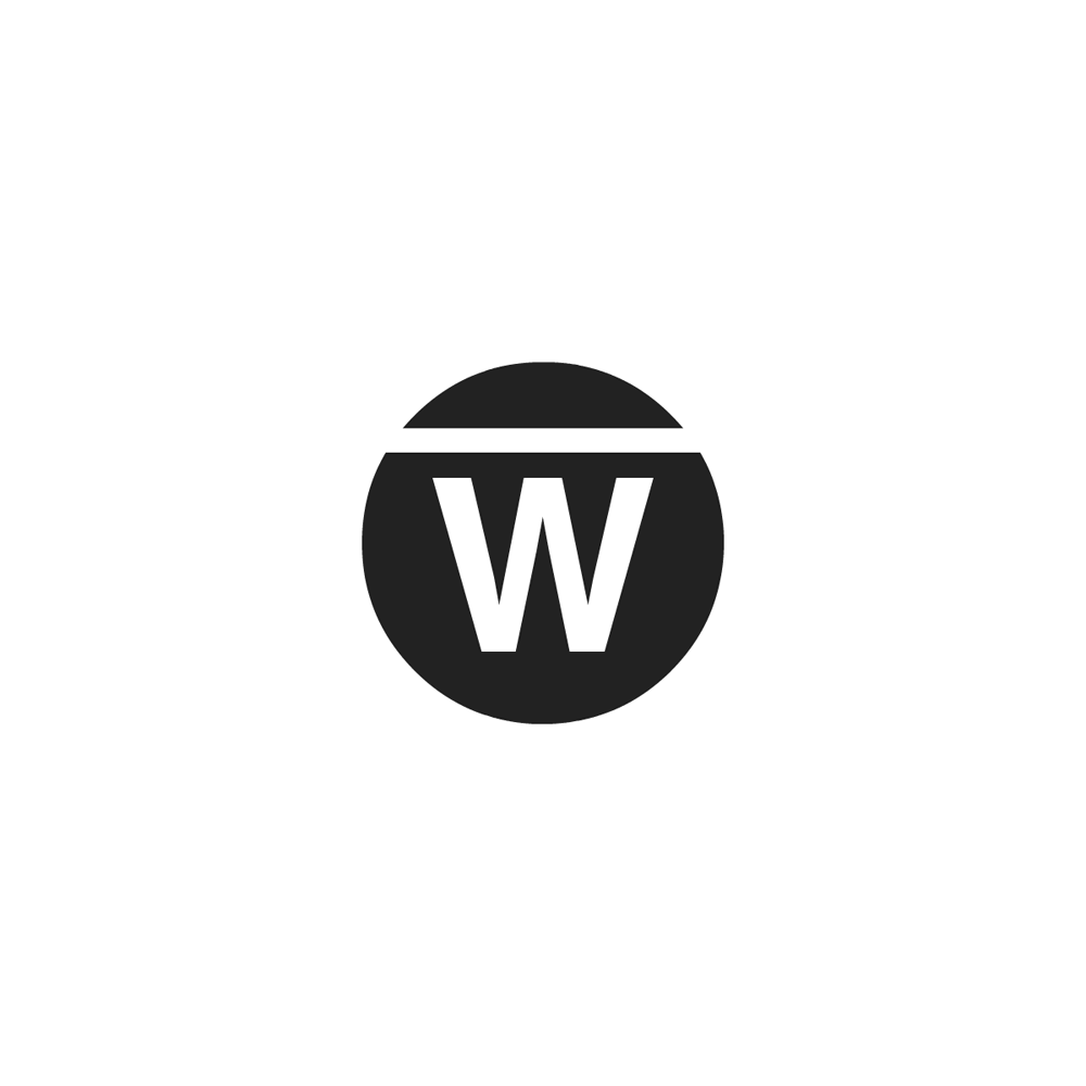 Warpwire circle logo dark on light