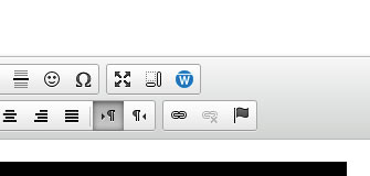 Warpwire button within text editor