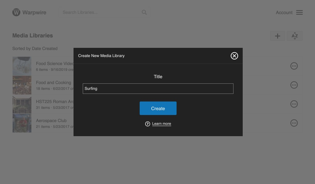 Create new Media Library user input field